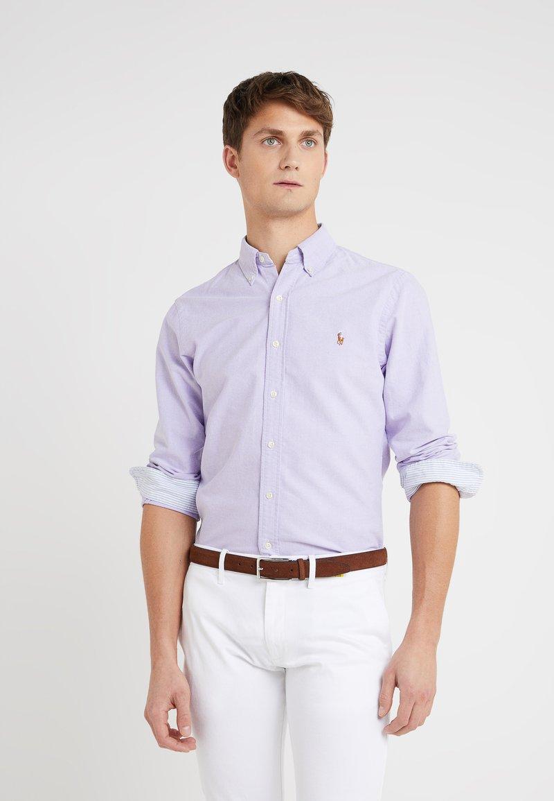 Polo Ralph Lauren - OXFORD SLIM FIT - Camisa - grape/white