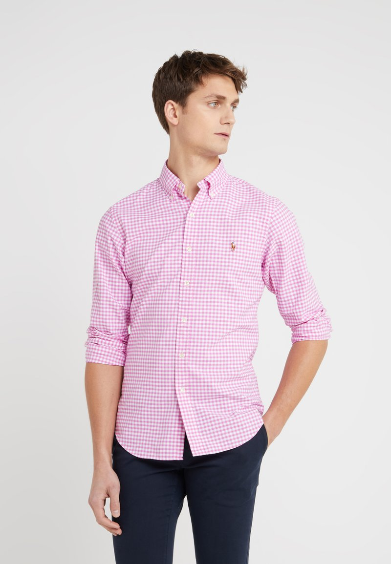 Polo Ralph Lauren - OXFORD SLIM FIT - Chemise - rose/white