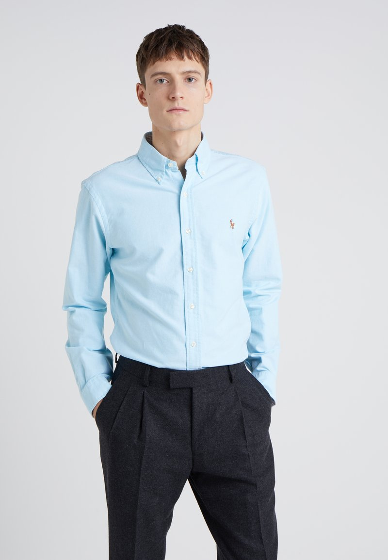 Polo Ralph Lauren - OXFORD SLIM FIT - Shirt - aegean blue