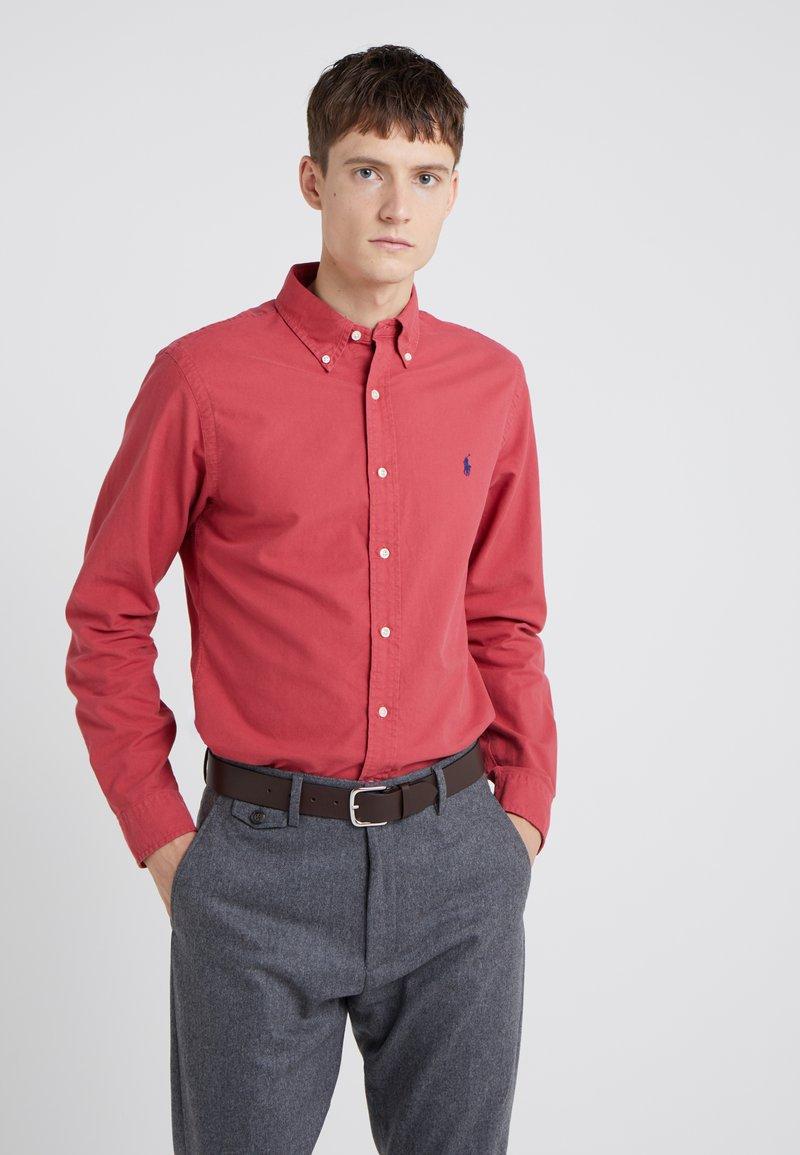 Polo Ralph Lauren - OXFORD SLIM FIT - Skjorta - chili pepper