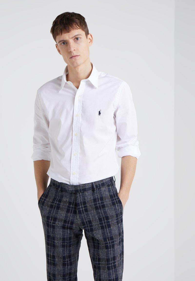 Polo Ralph Lauren - NATURAL PHILLIP - Zakelijk overhemd - white