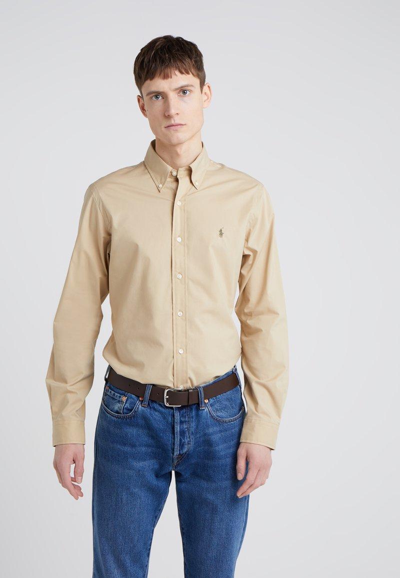 Polo Ralph Lauren - NATURAL SLIM FIT - Camisa - dune tan