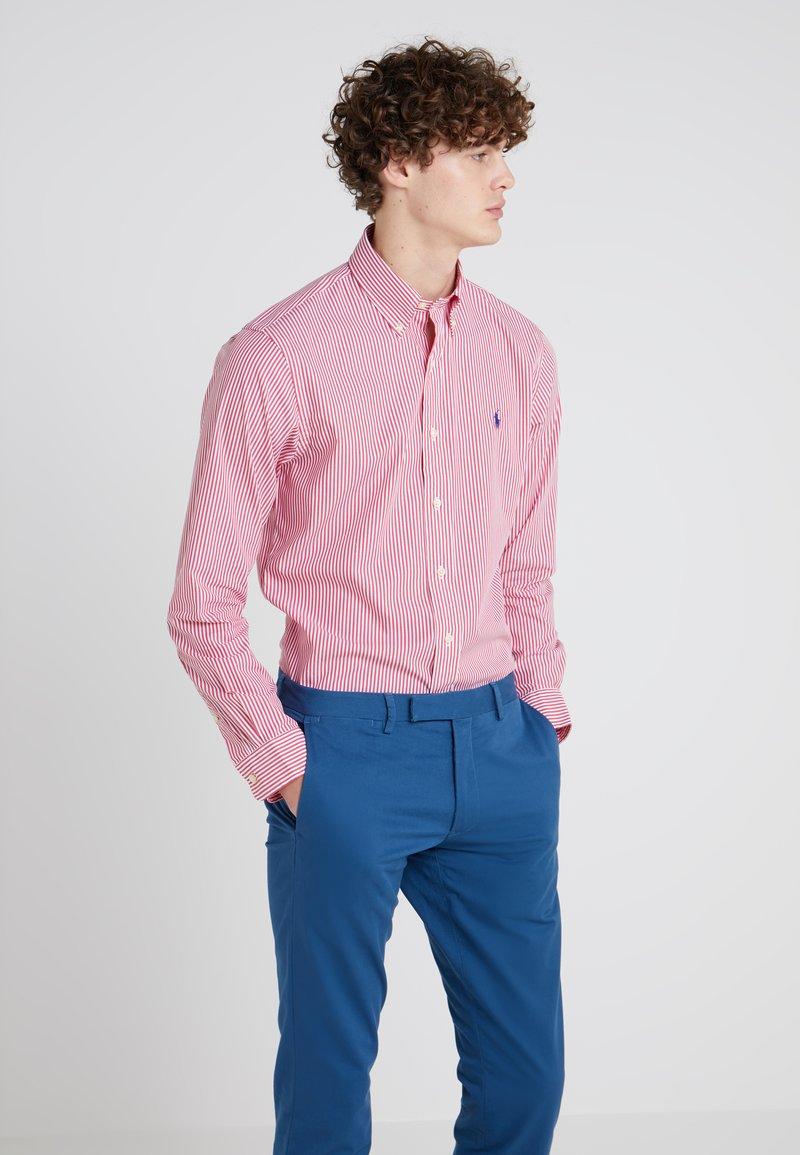 Polo Ralph Lauren - NATURAL SLIM FIT - Camisa - bermuda red