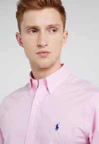 Polo Ralph Lauren - NATURAL SLIM FIT - Camicia - carmel pink - 4