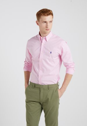 NATURAL SLIM FIT - Hemd - carmel pink