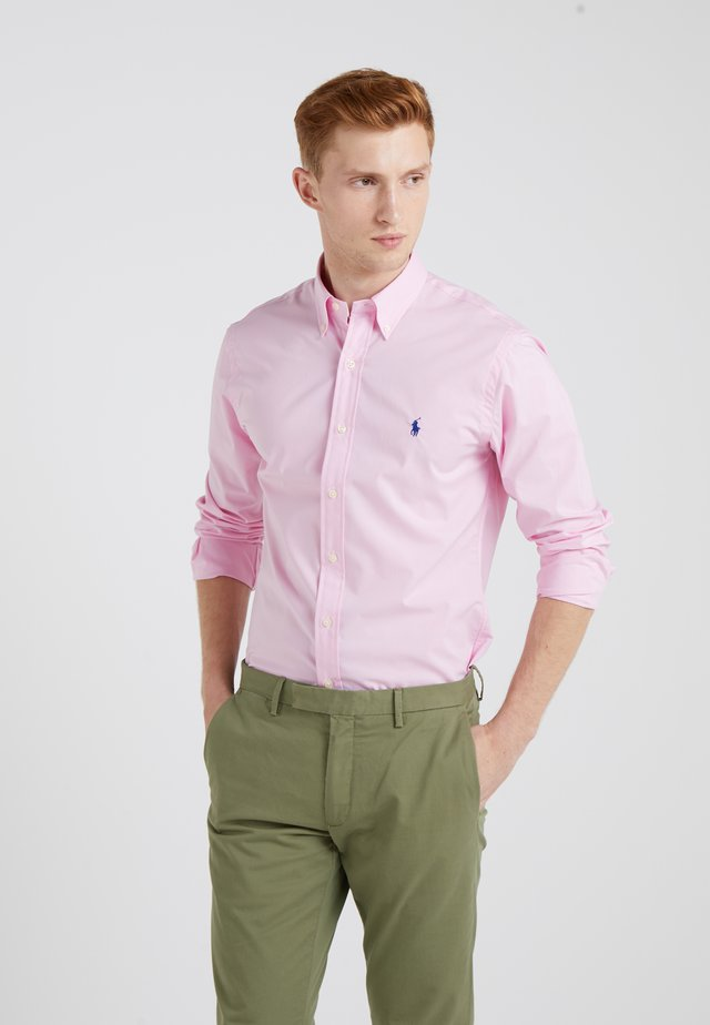 NATURAL SLIM FIT - Overhemd - carmel pink