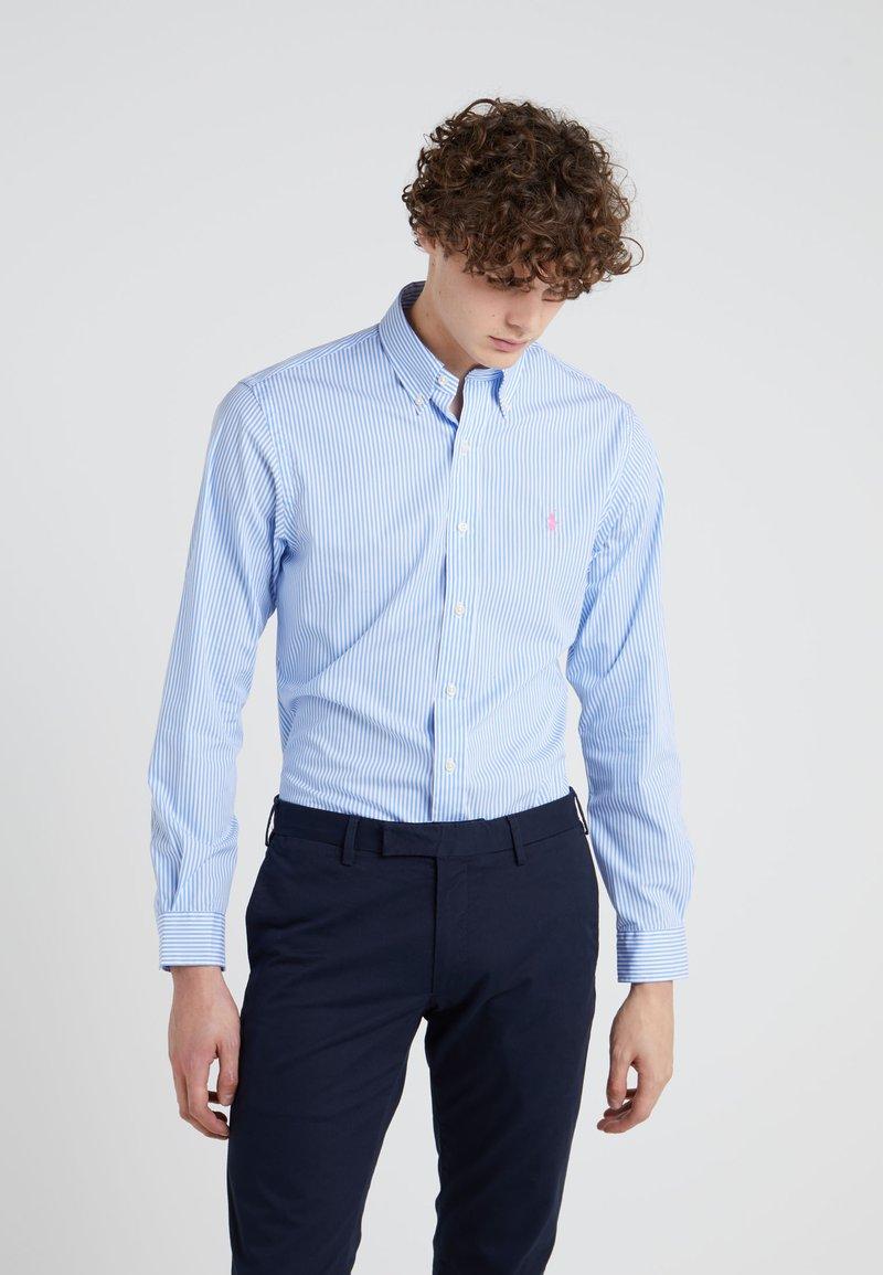 Polo Ralph Lauren - NATURAL SLIM FIT - Hemd - powder blue