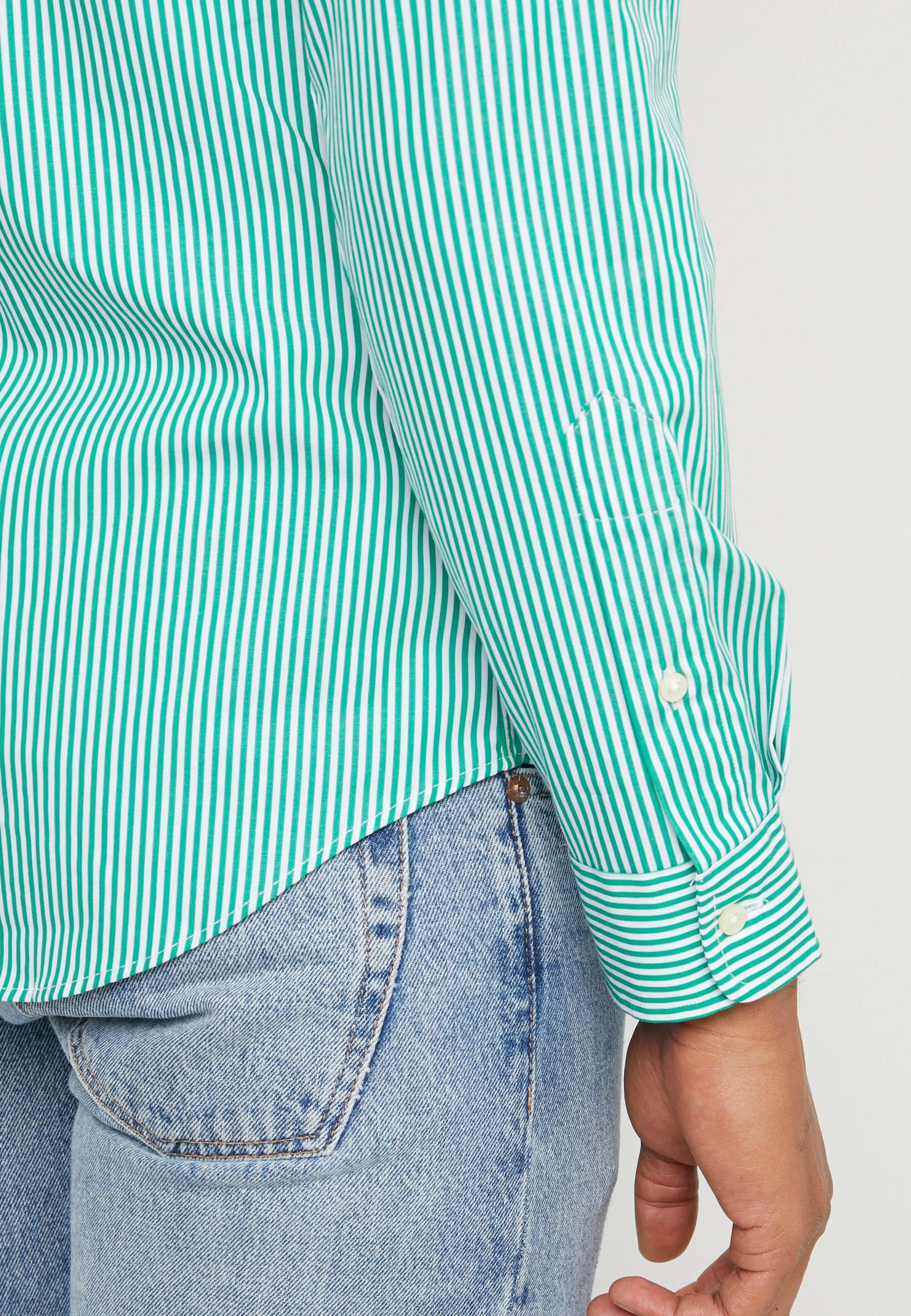 Polo Ralph Lauren Natural Slim Fit - Skjorter Stem Green