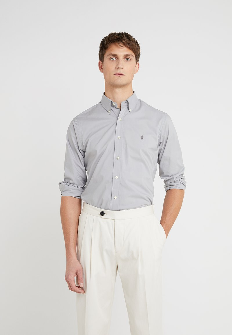 Polo Ralph Lauren - NATURAL SLIM FIT - Camisa - channel grey