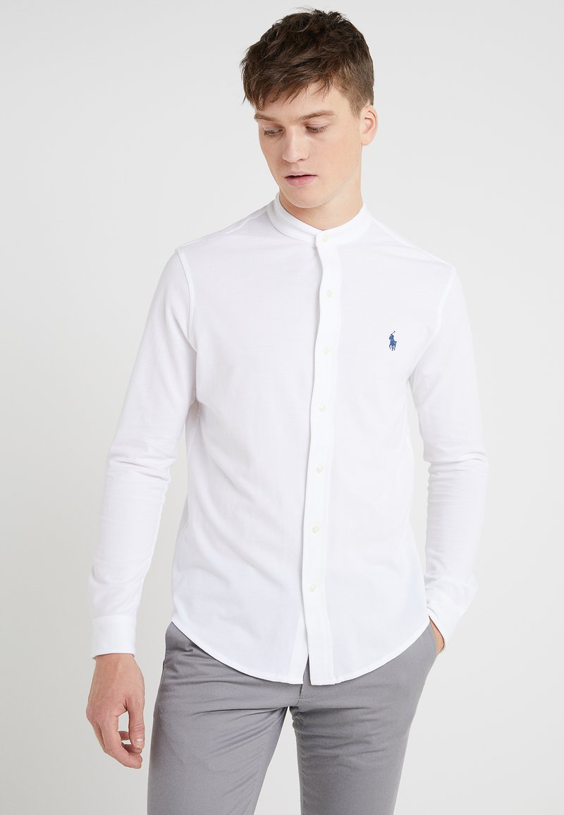 Polo Ralph Lauren - FEATHERWEIGHT MANDARIN - Skjorte - white
