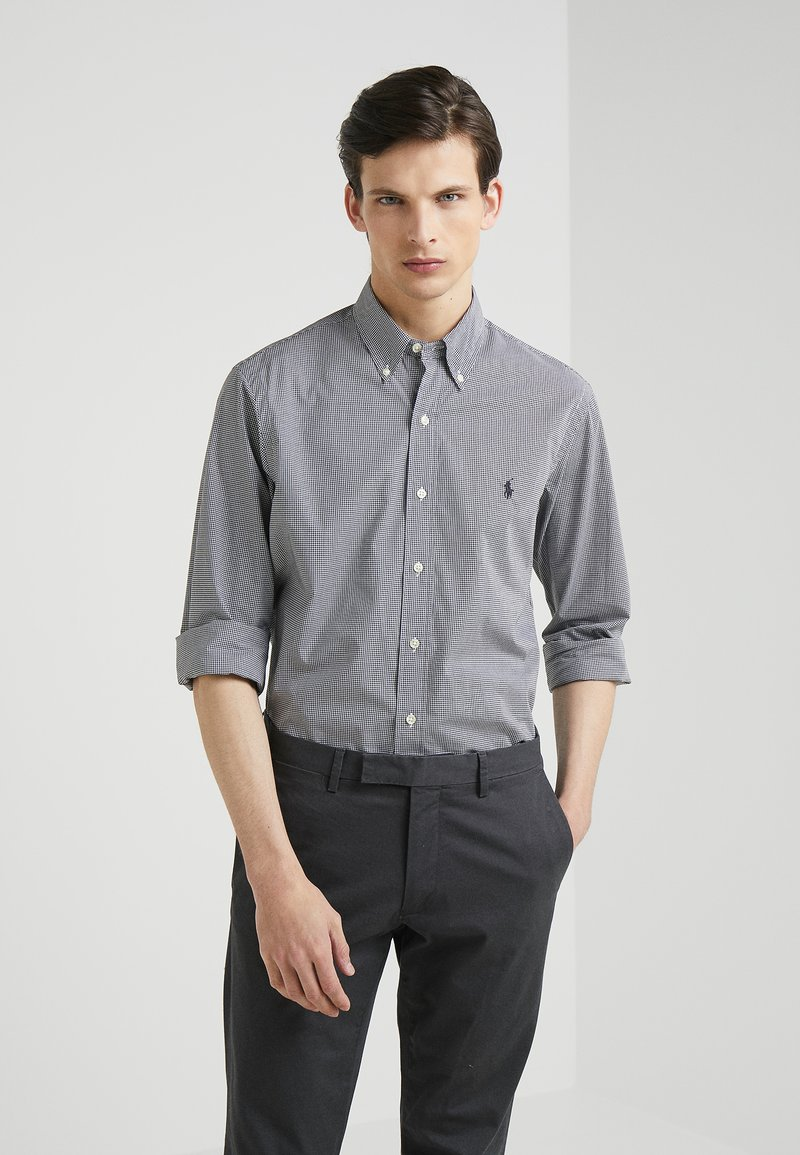 Polo Ralph Lauren - NATURAL  - Camicia - black/white