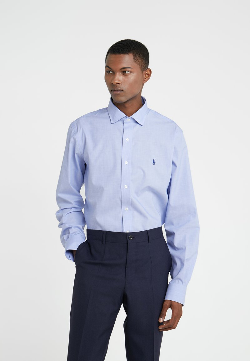 Polo Ralph Lauren - EASYCARE STRETCH ICONS - Formální košile - light blue/ white