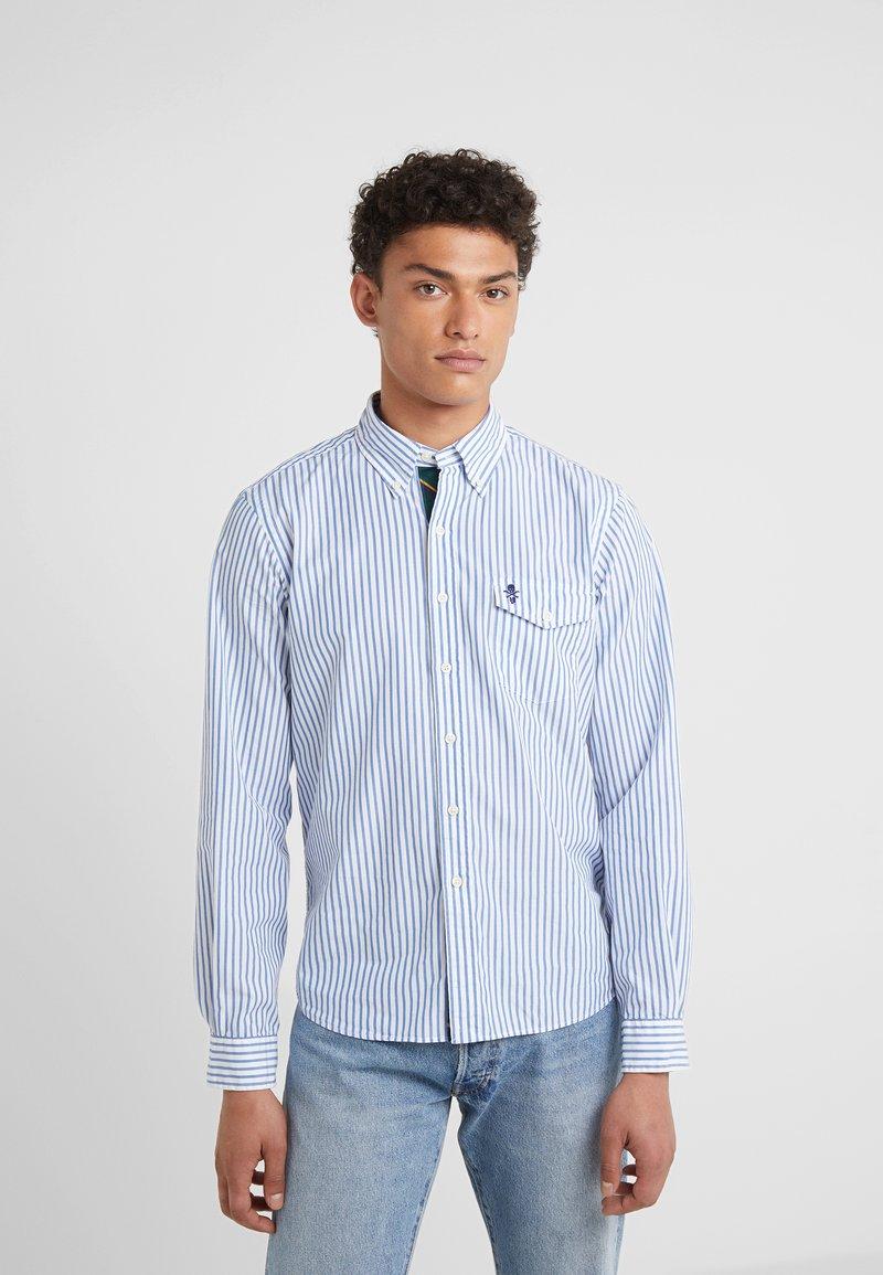 Polo Ralph Lauren - LONG SLEEVE  - Hemd - blue/white