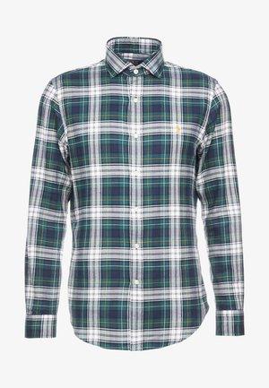 SLIM FIT - Shirt - green/multi