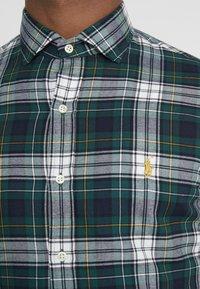 Polo Ralph Lauren - SLIM FIT - Skjorta - green/multi - 5