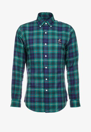 SLIM FIT - Skjorte - green