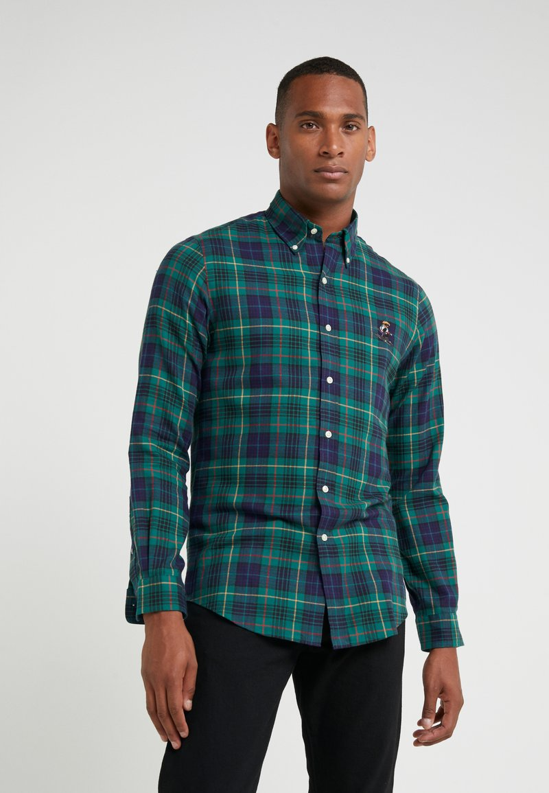 Polo Ralph Lauren - SLIM FIT - Skjorta - green