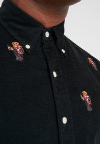 Polo Ralph Lauren - WALE SLIM FIT - Camisa - black - 5