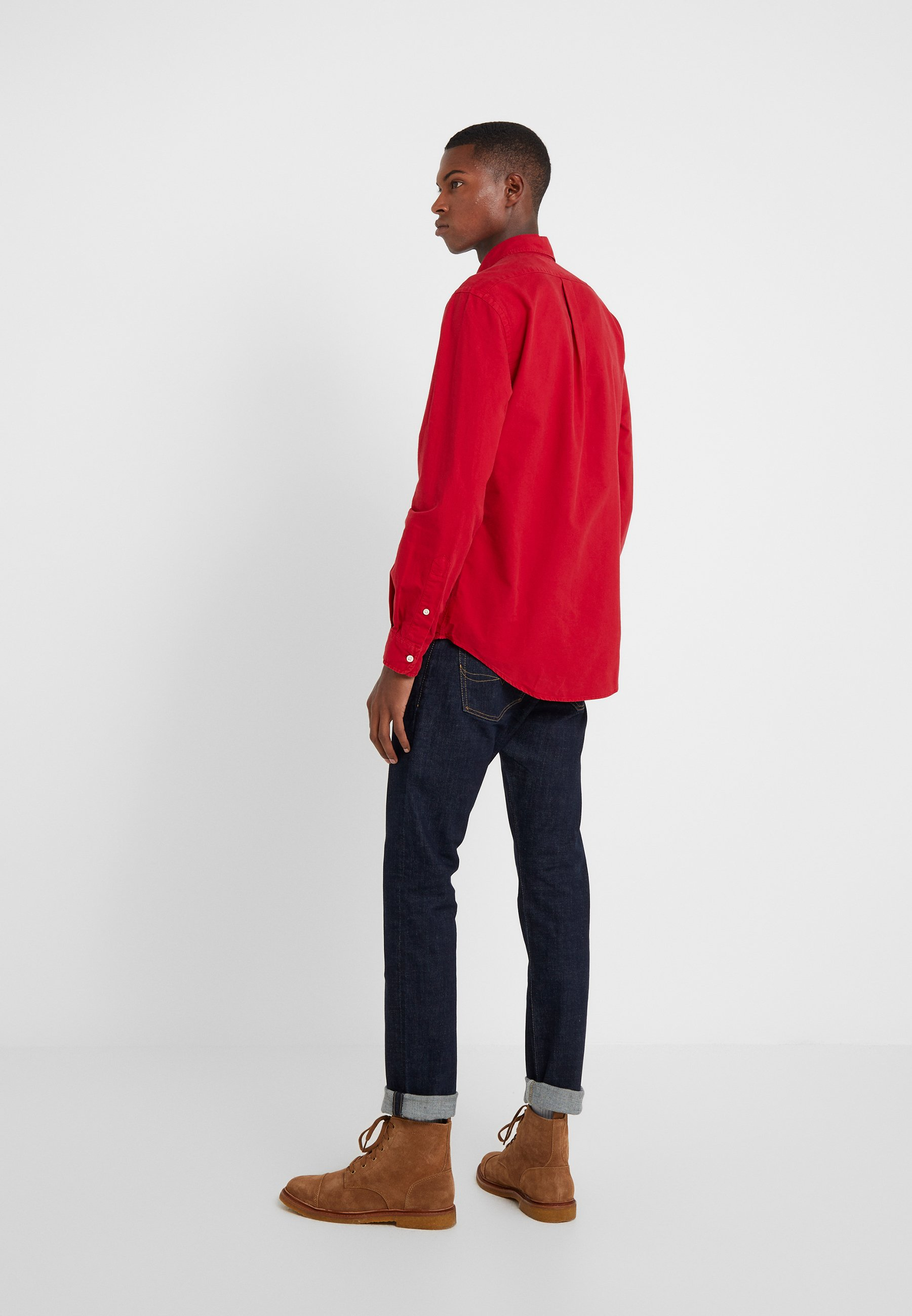 Red Ralph Lauren Oxford Pioneer Polo FitChemise Slim QdeWxrCBo