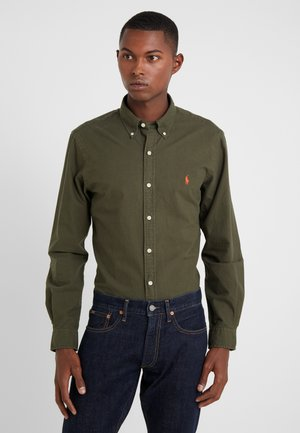 OXFORD SLIM FIT - Shirt - company olive