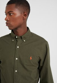 Polo Ralph Lauren - OXFORD SLIM FIT - Hemd - company olive - 3