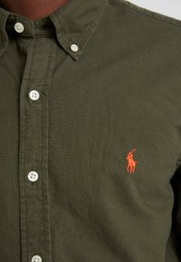 Polo Ralph Lauren - OXFORD SLIM FIT - Hemd - company olive - 6