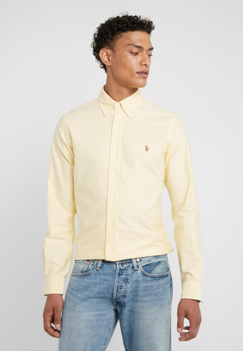 Polo Ralph Lauren - OXFORD SLIM FIT - Shirt - yellow