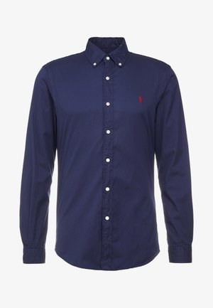 SLIM FIT - Hemd - cruise navy