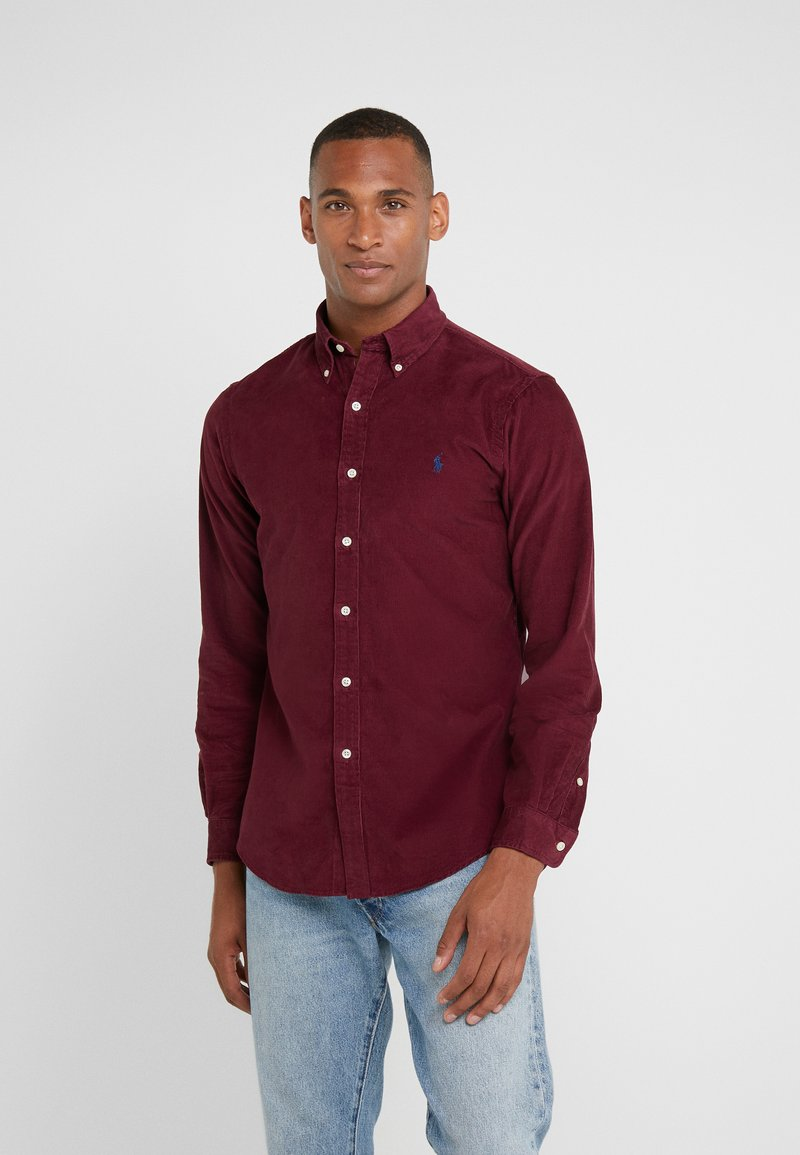Polo Ralph Lauren - WALE SLIM FIT - Skjorte - classic wine