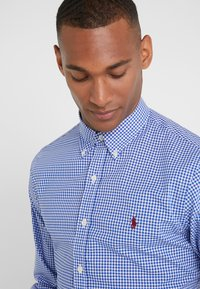 Polo Ralph Lauren - POPLIN SLIM FIT - Overhemd - royal/white - 4