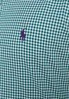 Polo Ralph Lauren - POPLIN SLIM FIT - Vapaa-ajan kauluspaita - evergreen/white