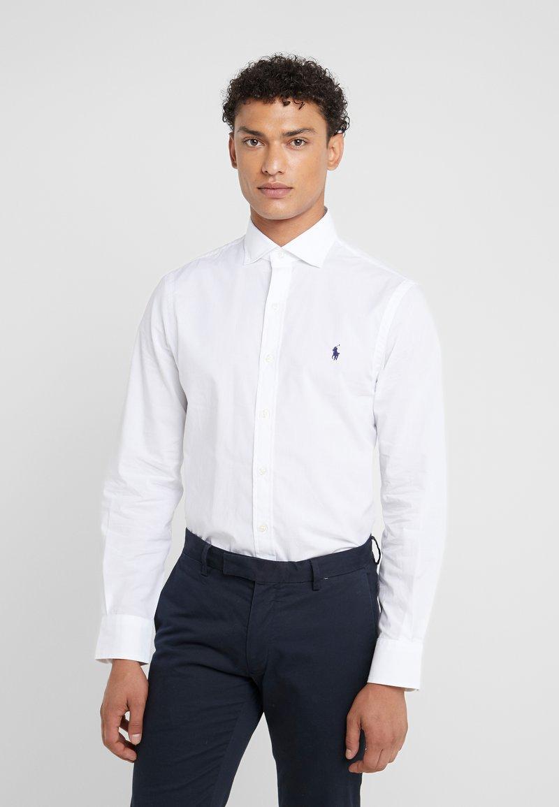 Polo Ralph Lauren - NATURAL SLIM FIT - Skjorta - white