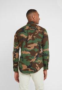Polo Ralph Lauren - PRINTED OXFORD - Košile - olive - 2