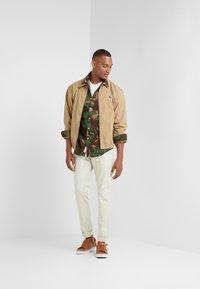 Polo Ralph Lauren - PRINTED OXFORD - Košile - olive - 1