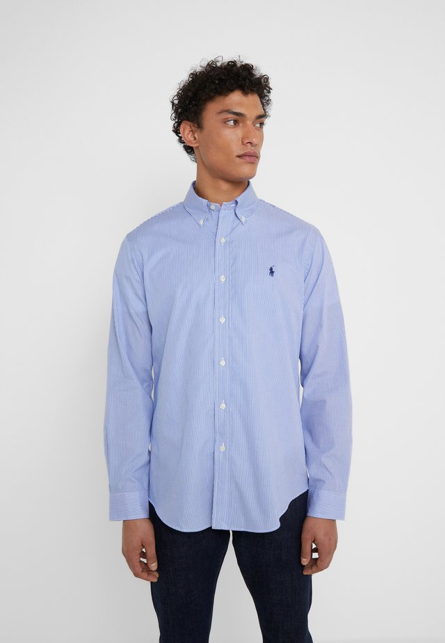 CUSTOM FIT - Camicia - blue/white