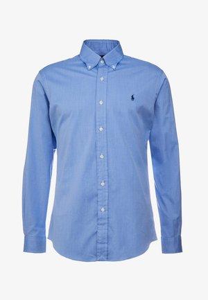 CUSTOM FIT - Shirt - blue end on end