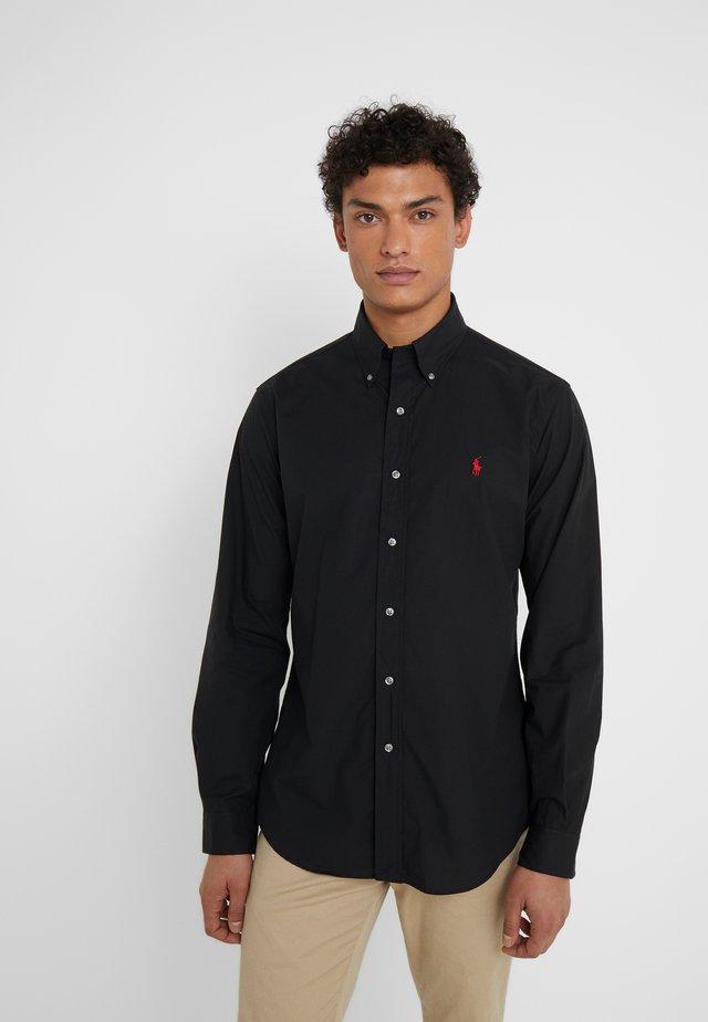CUSTOM FIT - Shirt - black
