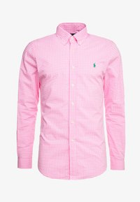 Polo Ralph Lauren - NATURAL SLIM FIT - Camicia - pink/white - 3