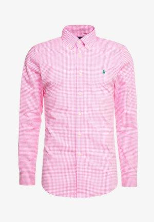 NATURAL SLIM FIT - Koszula - pink/white
