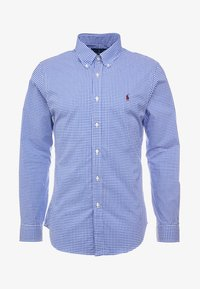 Polo Ralph Lauren - NATURAL SLIM FIT - Camicia - royal/white - 4
