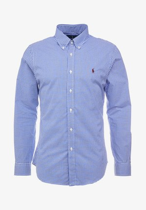 NATURAL SLIM FIT - Shirt - royal/white