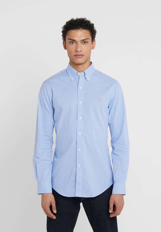 NATURAL SLIM FIT - Shirt - light blue