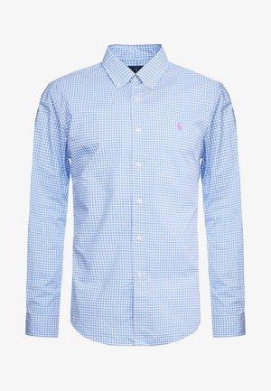 NATURAL SLIM FIT - Camicia - light blue