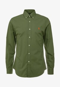 Polo Ralph Lauren - NATURAL SLIM FIT - Overhemd - supply olive - 4