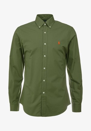 NATURAL SLIM FIT - Camicia - supply olive