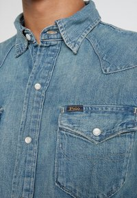 Polo Ralph Lauren - ICON WESTERN - Košile - blue denim - 5