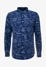 PRINTED OXFORD - Shirt - varsity stam