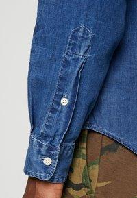 Polo Ralph Lauren - INDIGO SOLID - Košile - blue dip dye - 3