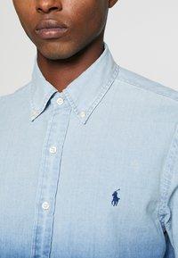 Polo Ralph Lauren - INDIGO SOLID - Košile - blue dip dye - 5