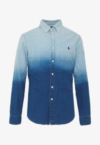 Polo Ralph Lauren - INDIGO SOLID - Košile - blue dip dye - 4